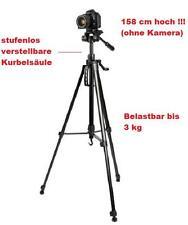 Foto Video 3- D Teleskop - Stativ Fotostativ  Kurbel Stativ  - 158 cm hoch !!!