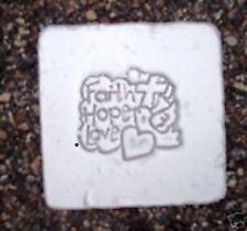 Religious tile mold accent plastic mold Chrismas inspirational plaque mould