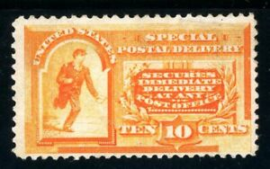 USAstamps Unused FVF US 1893 Special Delivery Messenger Running Scott E3 NG