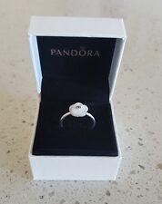 Pandora Genuine Luminous Floral Statement Ring 190999MOP-Sizes 54 & 56