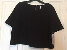 Kensie Women Black Top Size X-Large NWT