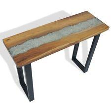 vidaXL Teak Konsolentisch Ablagetisch Beistelltisch Sideboard Flurtisch Tisch