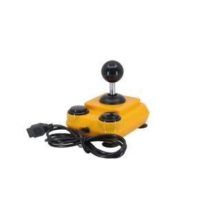 ArcadeR 9-pin Joystick compatible with Sinclair Atari C64 Sega Orange