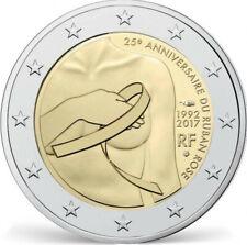 2 Euro Commémorative France 2017 - 25e Anniversaire du Ruban Rose Superbe