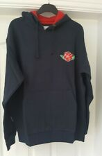 Authentic Originals England Rugby Sweatshirt Top Navy Blue with Rose Logo Size L