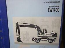 Volvo EW140C Excavator Service Manual