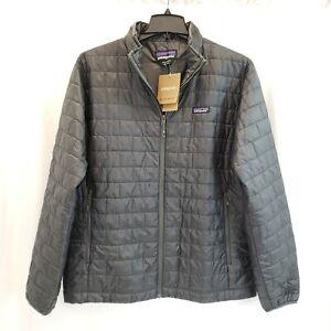 NWT Patagonia Men's Nano Puff Jacket - Forge Grey - Men's Size XL (Extra Large)