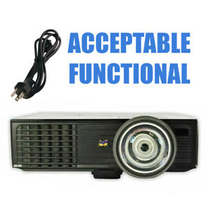 ViewSonic PJD6383s DLP Projector Short Throw - Acceptable Functional Power Cord