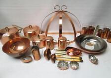 Assorted Copper-Clad Kitchenware, twenty-eight pie Lot 293
