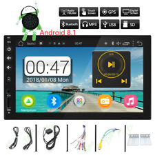 "7"" In Dash Double 2 Din Car Stereo NO DVD Player GPS Navigation Bluetooth+CAMERA"