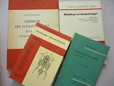 Chiropractor Therapeutic Massage Lot German Language Vintage Chiropraktik 1959