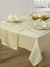 "CHRISTMAS GOLD GLITTER SPARKLES SHIMMERY 50""X90"" OBLONG  TABLE CLOTH £12.99 EACH"