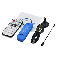 TV FM+DAB DVB-T/T2 USB Stick Dongle RTL2832 +R820T RTL-SDR Receiver Tuner Set