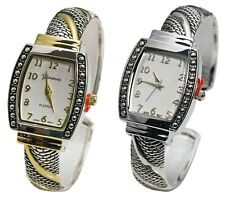 Blekon Collections Japanese Quartz Women's 25mm Case Western Concho Bangle Watch