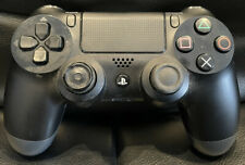 SONY PLAYSTATION 4 PS4 DUALSHOCK BLACK WIRELESS CONTROLLER *TESTED & WORKING*
