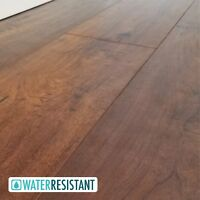 SAMPLE Gorgeous, Rich Auburn Crafted Maple Laminate Flooring - Glenview 12mm
