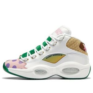 Reebok Question Mid Candy Land (Men's Size 10) Performance Sneaker Athletic Shoe