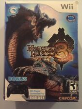 Monster Hunter 3 Tri Bundle W/Controller for Nintendo Wii