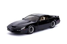 Jada 1: 24 Hollywood Rides Knight Rider KITT w/ Light Pontiac Firebird, Black