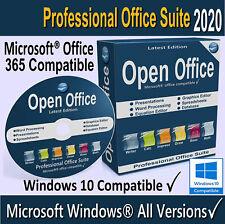 Open OFFICE 2020 Full Version Word Processor For Microsoft Windows 7 8.1 10