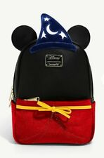 New listing Loungefly Sorcerer Mickey Mouse Mini Backpack Light-Up Disney Fantasia New