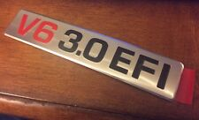 """V6 3.0 EFI"" 3VZE TOYOTA Pickup 4Runner Engine Decal Plate OEM *NEW* 1988-1995"