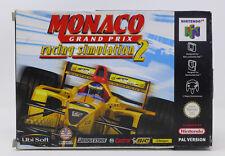 Monaco gran prix 2 nintendo 64 retrogames videogames per retroconsole new nuovo