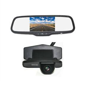 Rearview Reverse Backup Camera Mirror Monitor for Honda Jazz Odyssey CRV Elysion