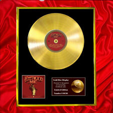 More details for fleetwood mac 50 years don't stop cd  gold disc vinyl record award display lp