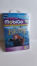 VTECH MOBIGO Learning Software Disney Brave Logic & Spelling 5 learning games