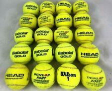 21 gebrauchte Tennisbälle von verschiedenen Profi-Herstellern Blitzversand