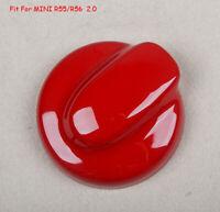 For MINI Cooper S One JCW R55 R56 R57 R58 Red Car Rear Gas Fuel Tank Cap Cover