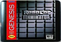 RoboCop Versus The Terminator (1993) 16 Bit Game Card For Sega Genesis System