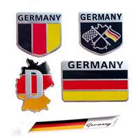 Motorcycle Emblem Truck Body Decoration Car Badge  Flag Germany Flag Sticker