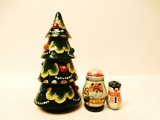 "Alkota Russian Original Nesting Doll ""The Christmas Tree"", 5"""