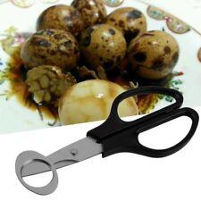 Quail Egg Scissors Cracker Opener Cigar Cutter Stainless Steel Blade Tool AZ