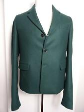 Valentino Green heavy wool blazer/jacket Men 48 IT 38 US M New