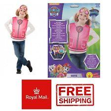 Paw Patrol Skye Costume Dress Set Kids Fancy Dress 3-6 Party World Book Day