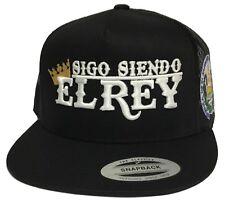 SIGO SIENDO EL REY DE EL SALVADOR MI PEQUEÑO PULGARSITO HAT 2 LOGOS BLACK MESH