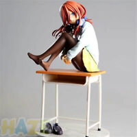 The Quintessential Quintuplets Nakano Miku 19cm PVC Figure Toy In Box Model