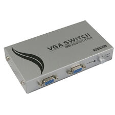 VGA Switch and Splitter 2 Input 2 Output, 350MHz (Resolution: 1920x1440)