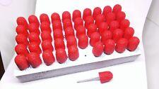 """127R MULTIBOR 40-Grit Reusable Pedicure Sanding Caps 2.35mm (3/32"""") Coarse 50pcs"""