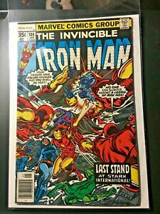 1978 Marvel Comics Iron Man (LOT) #106 & #111  VF- NRMT