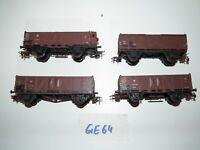 Piko Spur H0 4 Hochbordwagen auch für Fleischmann oder Roco GE64