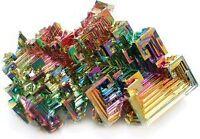 Bismuth Crystal - Mineral Specimen, Teaching Tools, Geology Fun