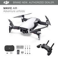 DJI Mavic Air - Arctic White Drone - 4K Camera, 32MP Sphere Panoramas!