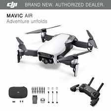DJI Mavic Air-Blanco Ártico Drone - 4K Cámara, 32MP Esfera panoramas!
