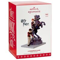 Harry Potter A Dangerous Game 2017 Hallmark Magic Ornament  Chess Game In Stock