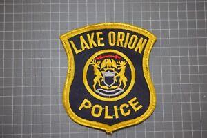 Lake Orion Michigan Police Patch (B17-10)