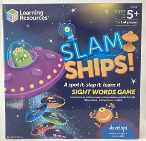 Learning Resources Slam Ships Sight Words Game